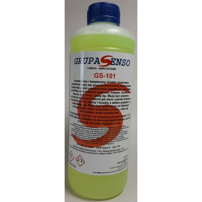 GS-101  1L  universal cleaning fluid